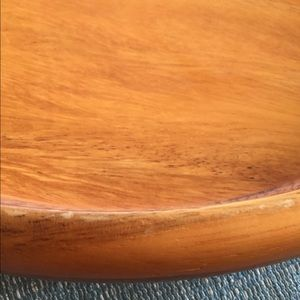 Threshold Other - Acacia wood round platter